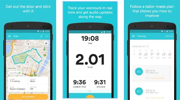spor uygulaması Runkeeper - GPS İle Koşu ve Yürüyüş Takip